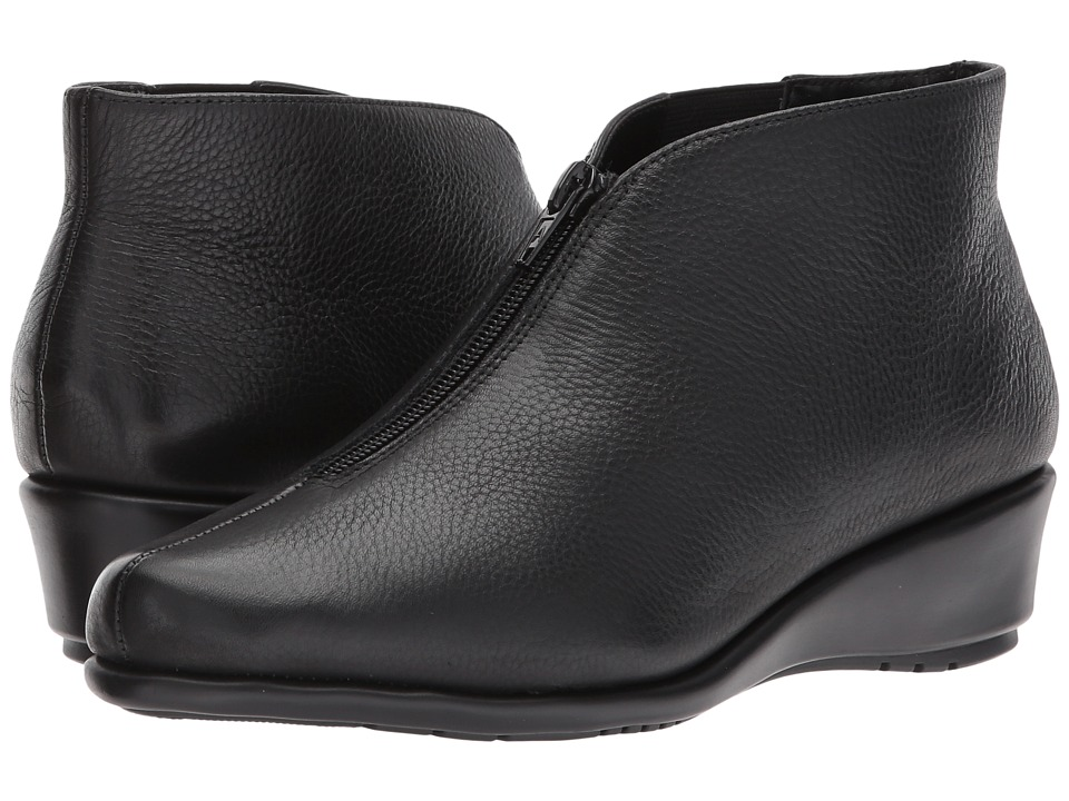 Aerosoles Allowance (Black Leather) Women