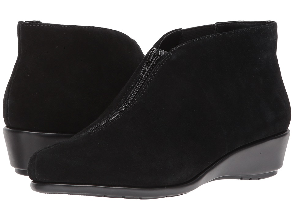 Aerosoles Allowance (Black Suede) Women