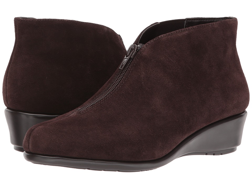 Aerosoles Allowance (Dark Brown Suede) Women