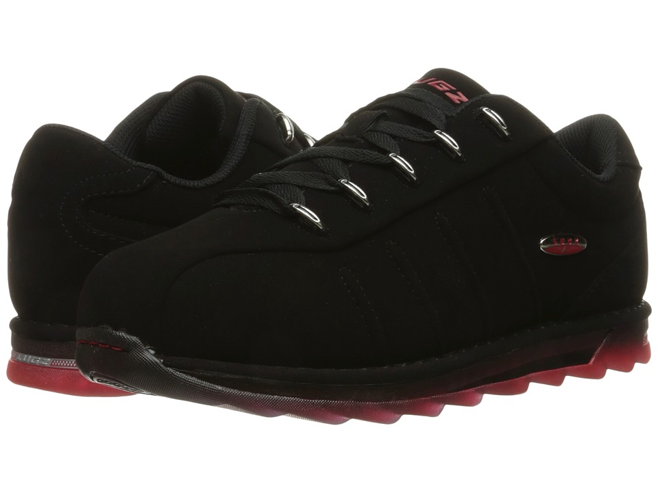 Lugz - Changeover Ice (Black/Mars Red/Clear) Men's Shoes