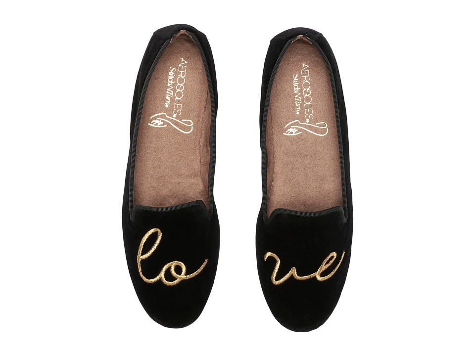 Aerosoles Betunia (Black Velvet Love) Women