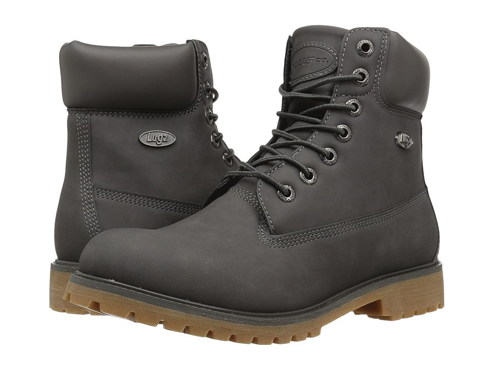 Lugz - Convoy (Charcoal/Gum) Men's Lace-up Boots