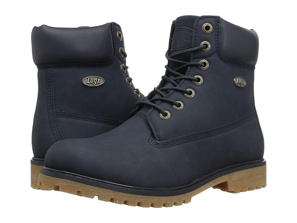 Lugz - Convoy (Navy/Gum) Men's Lace-up Boots