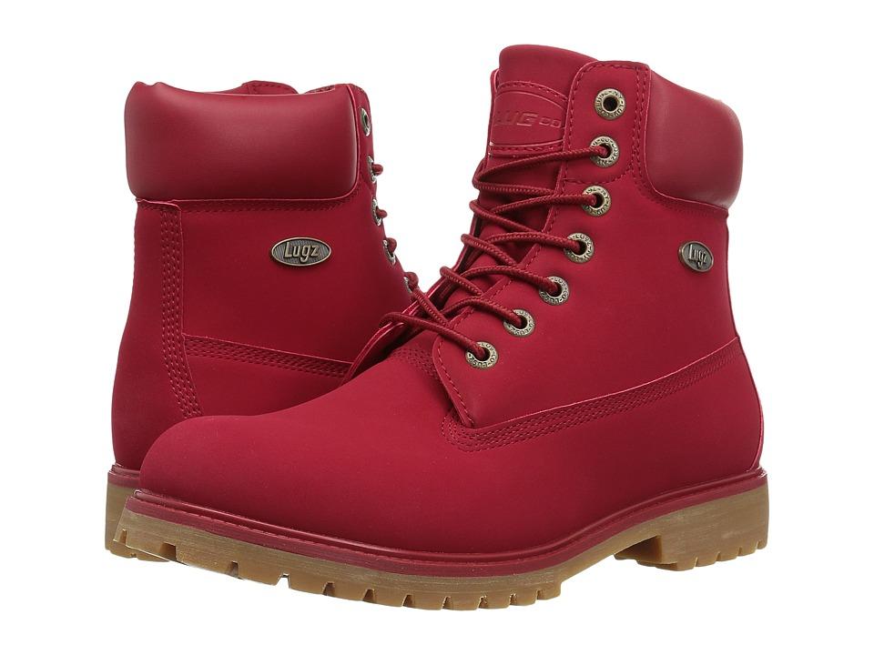 Lugz - Convoy (Mars Red/Gum) Men's Lace-up Boots