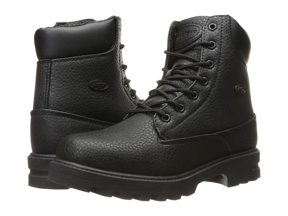 Lugz - Empire Hi WR (Black) Men's Shoes