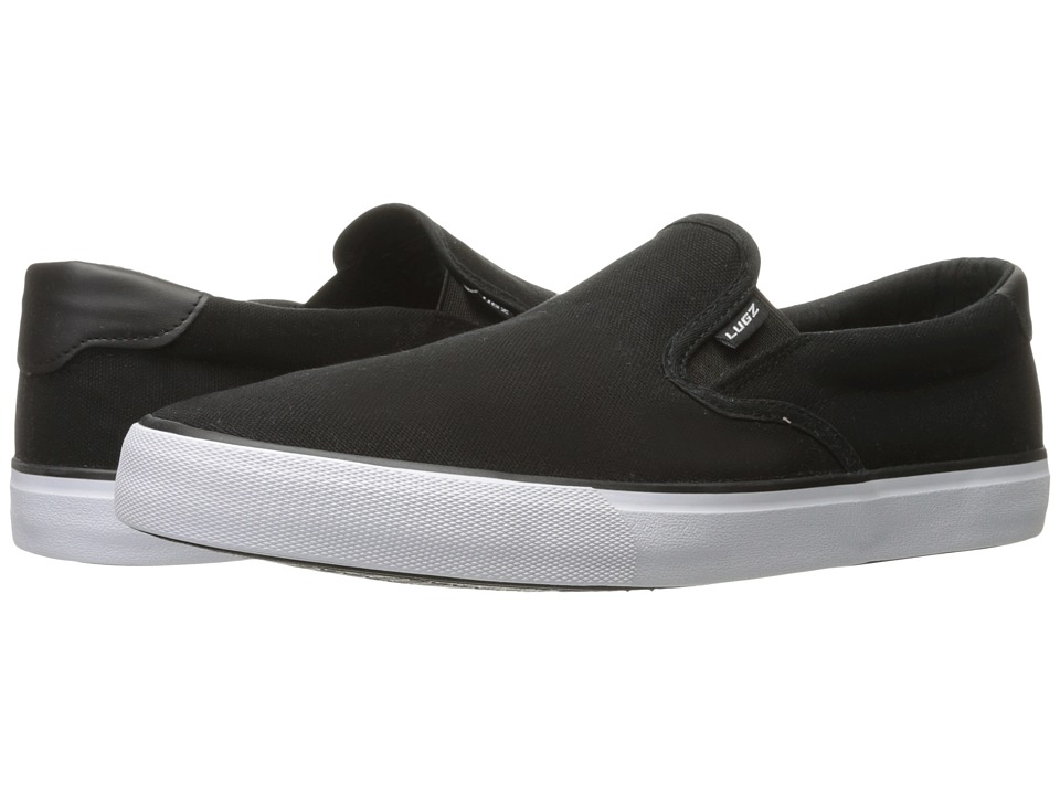 Lugz - Clipper (Black/White) Men's Shoes