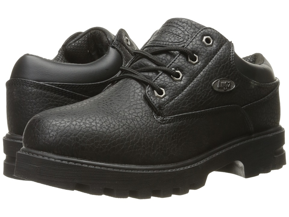 Lugz - Empire Lo WR (Black) Men's Lace up casual Shoes