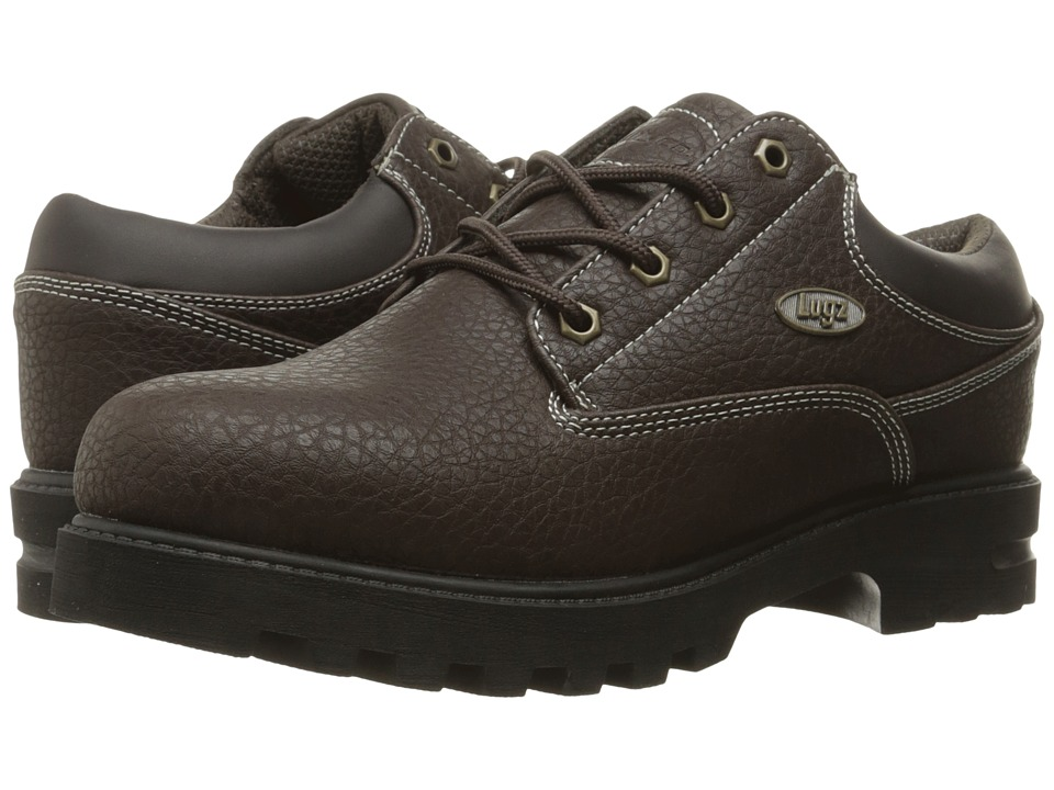 Lugz Empire Lo WR (Dark Brown/Black/Cream) Men