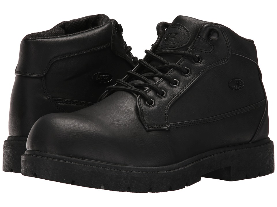 Lugz - Mantle Mid (Black) Men's Shoes