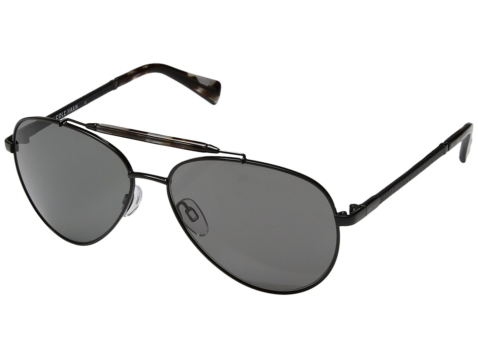 Cole Haan - C H6002 (Dark Gunmetal) Fashion Sunglasses