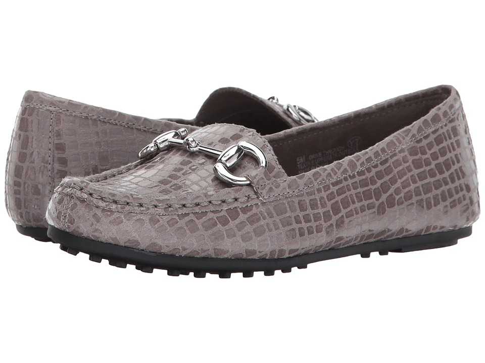 Aerosoles Drive Through (Grey Croco) Women