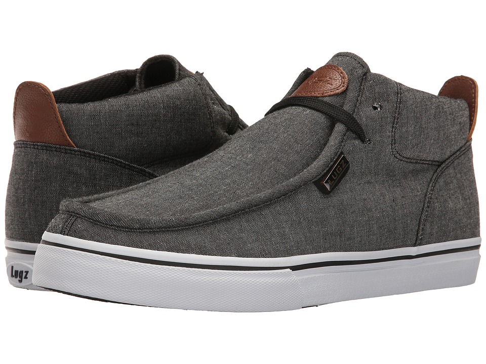 Lugz Strider Chambray (Black/Hickory/White) Men