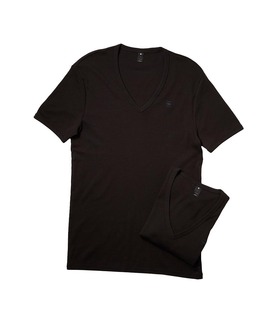 G-Star - Base V Short Sleeve Tee 2-Pack (White) Men's T Shirt