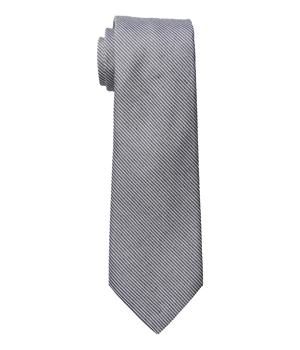 LAUREN Ralph Lauren - One Color Stripe Tie (Navy) Ties