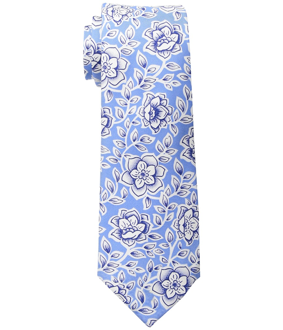 LAUREN Ralph Lauren - Summer Floral Tie (Light Blue) Ties