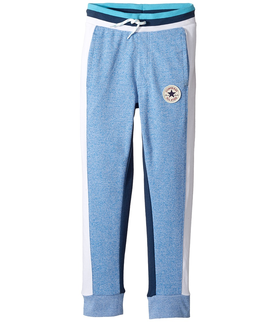 Converse Kids - Color Blocked Joggers (Big Kids) (Soar Marl) Boy's Casual Pants