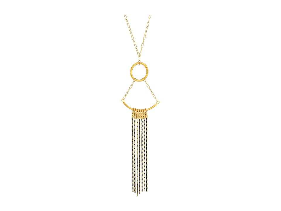 Vanessa Mooney - The Cher Necklace (Gold/Black) Necklace