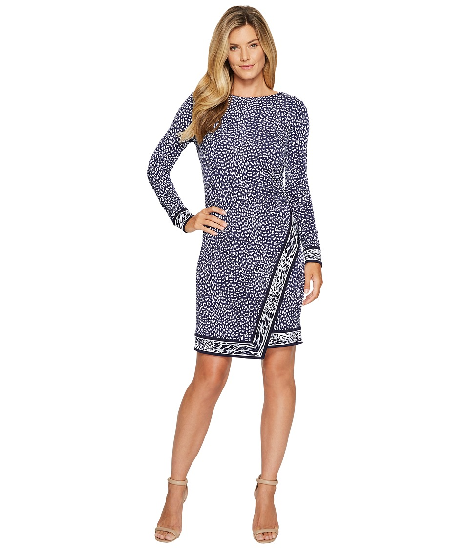 MICHAEL Michael Kors Cheetah Border Wrap Dress