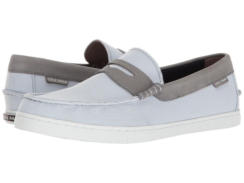 Cole Haan - Nantucket Loafer II (Blue Stripe/Cornwall Blue Leather) Men's Slip on Shoes