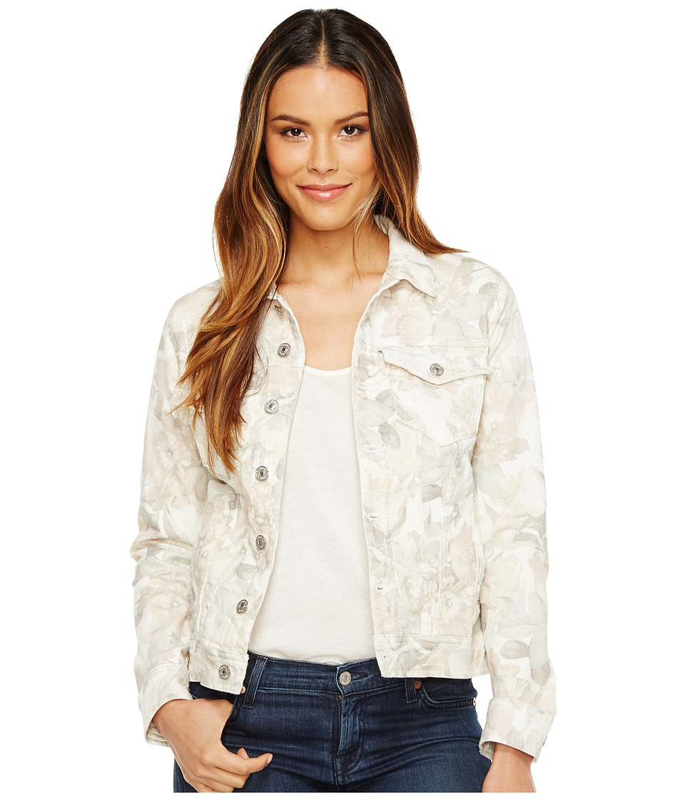 7 For All Mankind - Classic Denim Jacket w/ Distress (Sydney Garden (SYDG)) Women's Coat