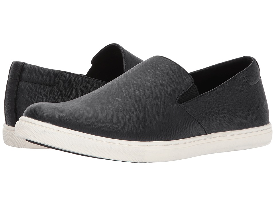 Kenneth Cole Unlisted - Design 300772 (Black) Men's Slip-on Dress Shoes