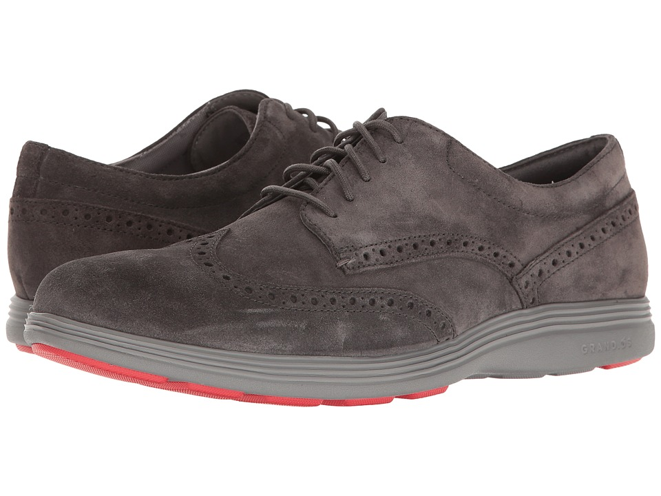Cole Haan - Grand Tour Wing Ox (Pavement/Ironstone) Men's Lace Up Wing Tip Shoes