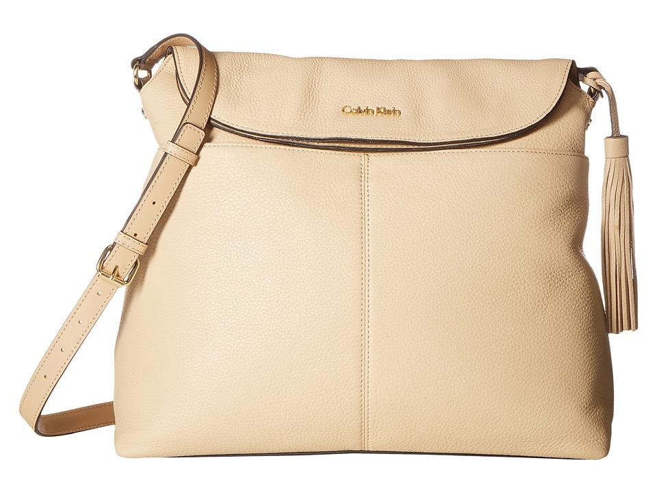 Calvin Klein Casual Pebble Messenger (Nude) Messenger Bags