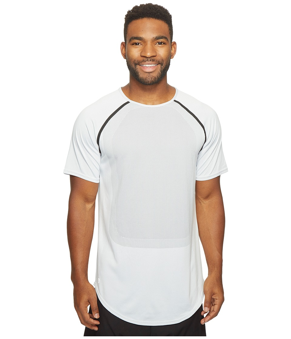 PUMA - Stampd Raglan Sleeve Shirt (White) Men's Long Sleeve Pullover