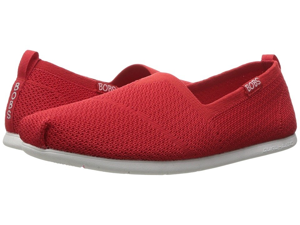 BOBS from SKECHERS Plush Lite Custom-Built (Red) Women