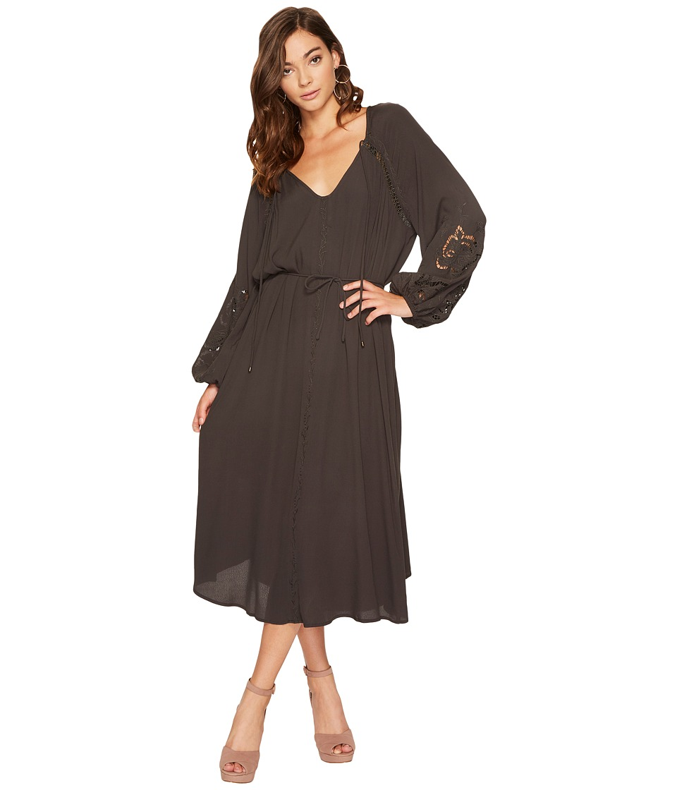 ASTR the Label Ava Dress (Dark Slate) Women
