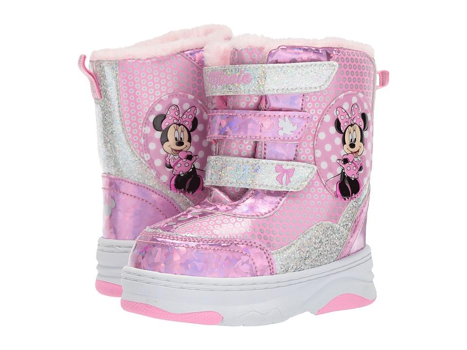 Josmo Kids Minnie Snow Boot (Toddler/Little Kid) (Pink) Girls Shoes