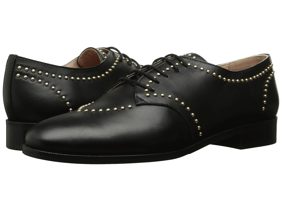 Boutique Moschino - Studded Brogue (Black) Women's Shoes