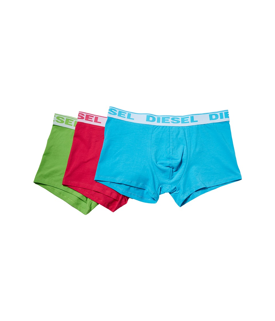 Diesel - Shawn Trunk GAFN 3-Pack (Green/Pink/Turquoise) Men's Underwear
