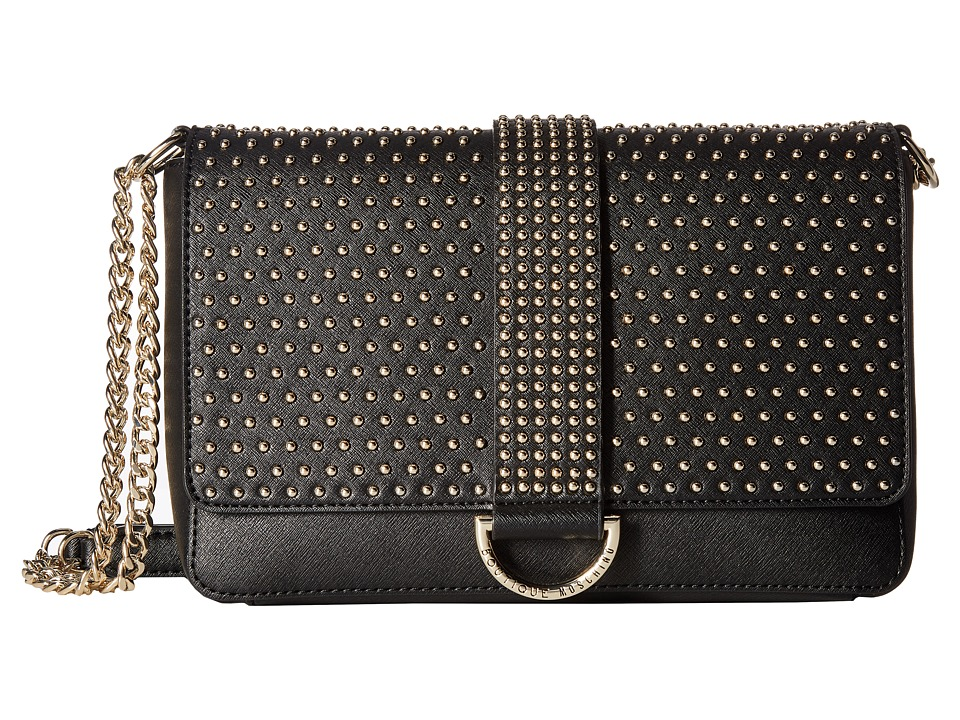 Boutique Moschino - Studded Bag (Black) Shoulder Handbags