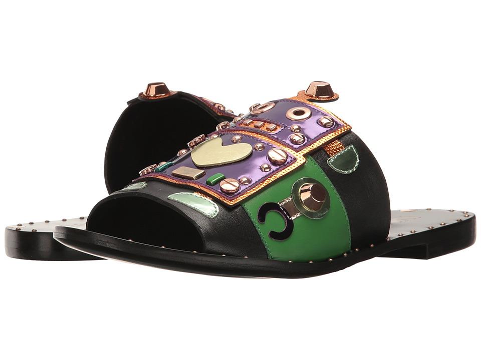 IVY KIRZHNER - Bobby (Black Multi) Women's Shoes