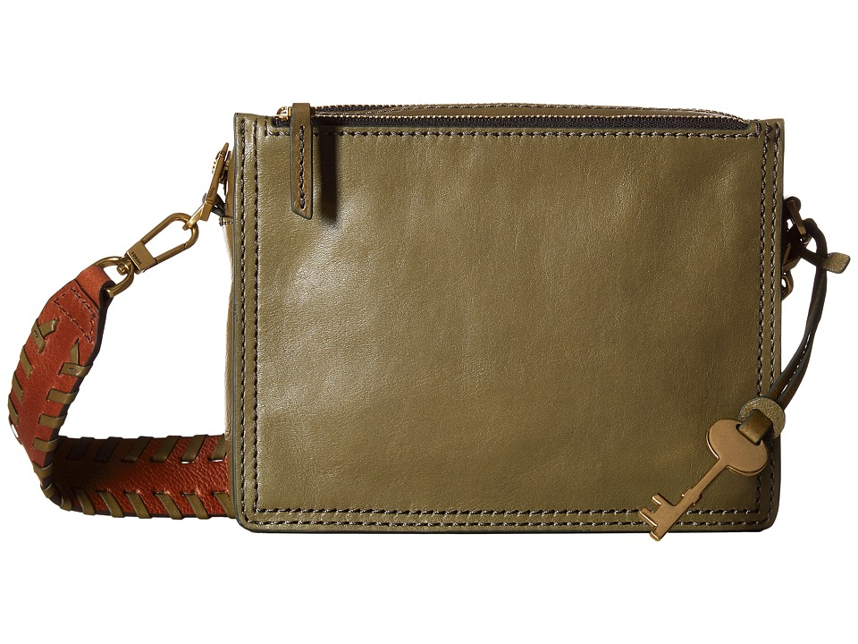 Fossil - Campbell Crossbody (Rosemary) Cross Body Handbags