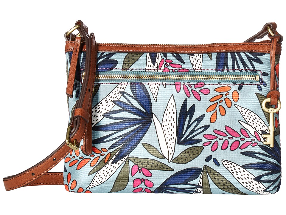 Fossil - Fiona Small Crossbody (Agave) Cross Body Handbags