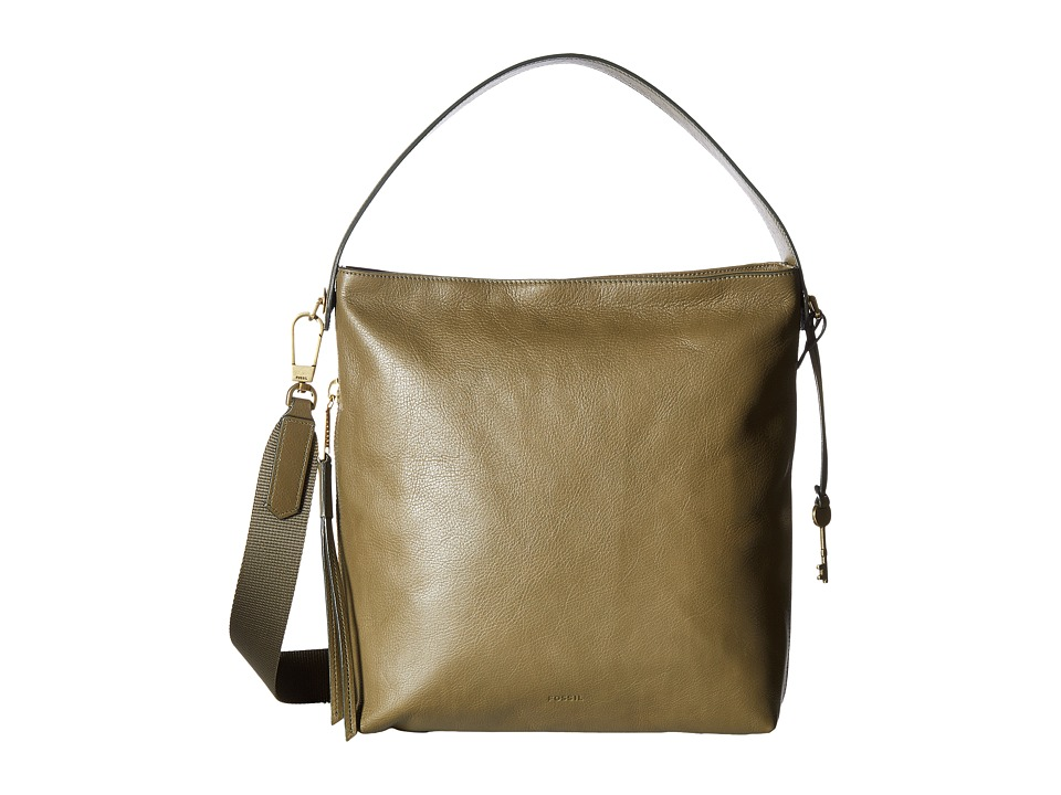 Fossil - Maya Small Hobo (Rosemary) Hobo Handbags