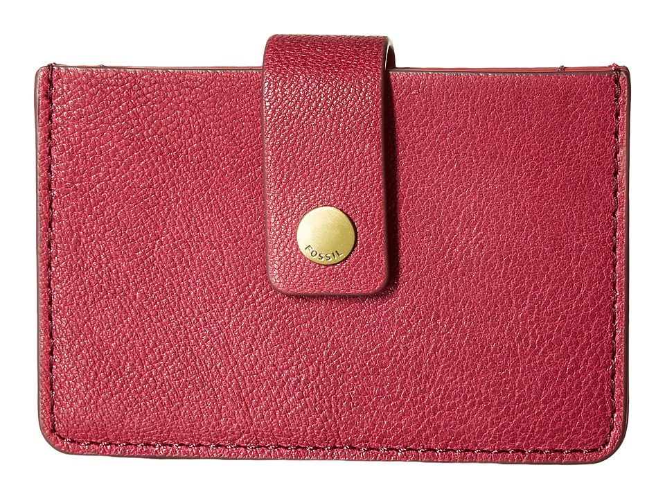Fossil - Mini Tab Wallet (Raspberry Wine) Wallet