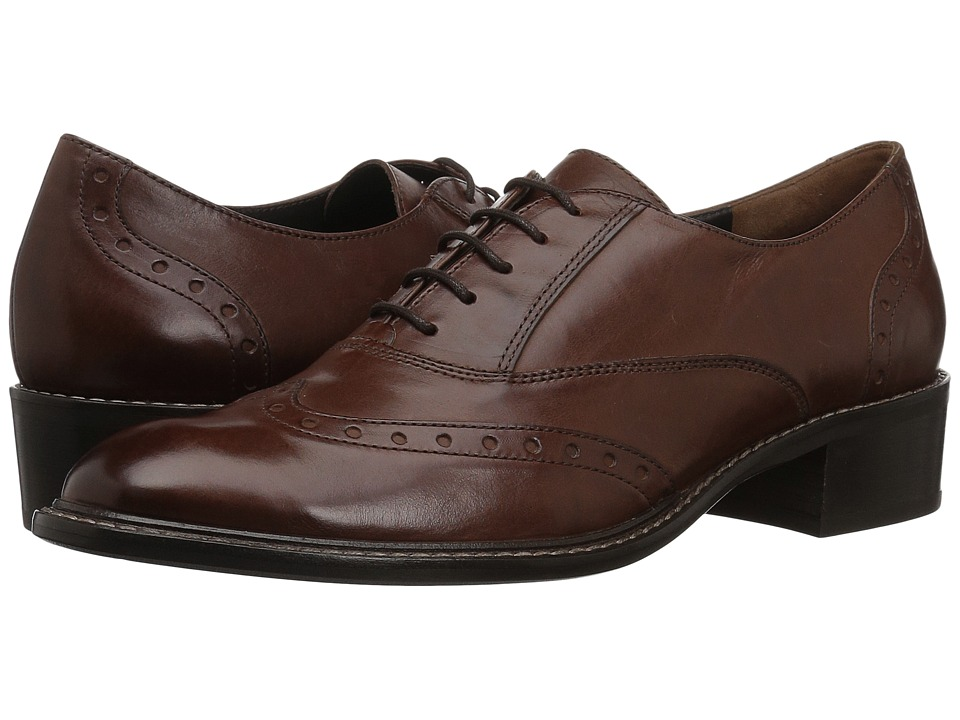 Paul Green Oakes Oxford (Saddle Leather) Women