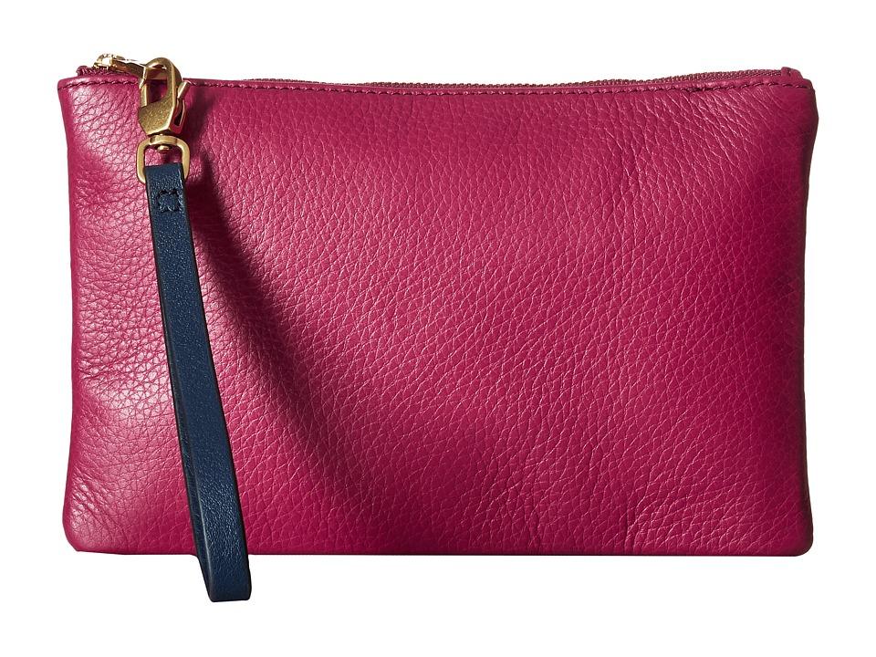 Fossil - RFID Wristlet (Raspberry Wine) Wristlet Handbags