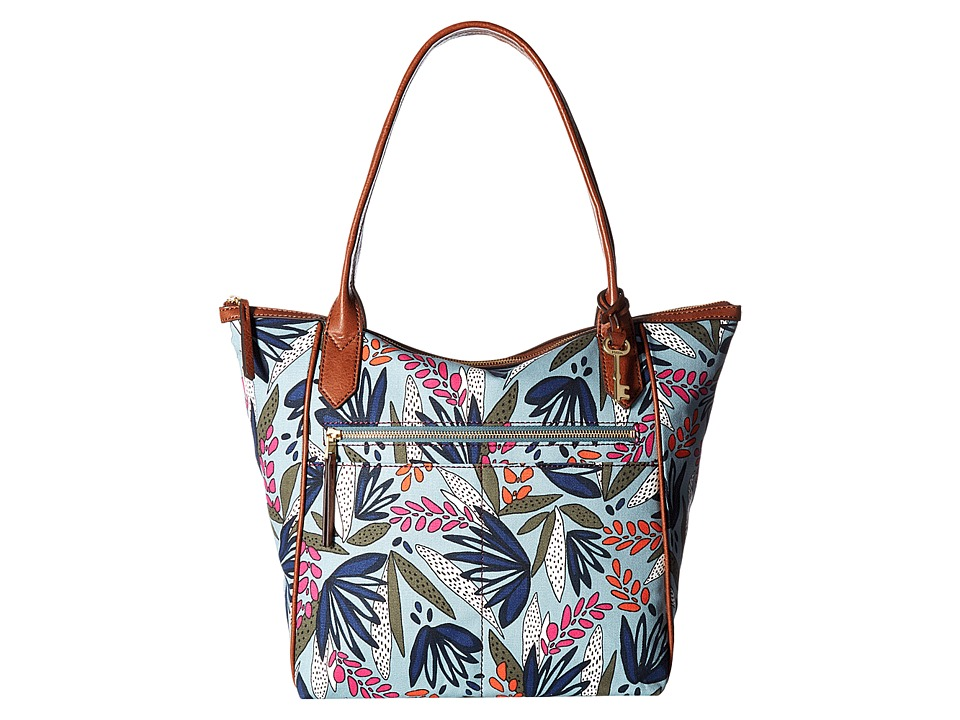 Fossil - Fiona Tote (Raspberry Wine) Tote Handbags