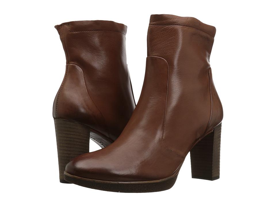 Paul Green Omega Boot (Nougat Leather) Women