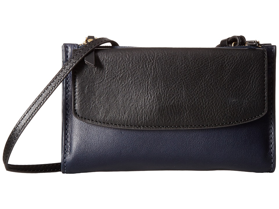 Fossil - Sage Mini Bag (Black Multi) Cross Body Handbags