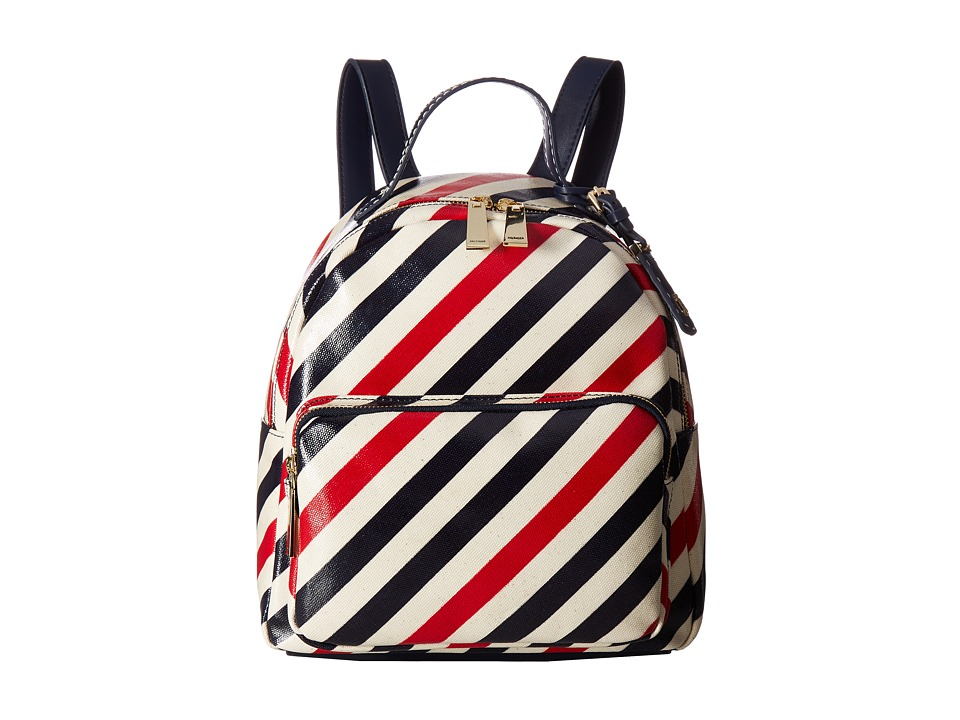 Tommy Hilfiger - Julia Stripe Backpack (Tommy Navy) Backpack Bags