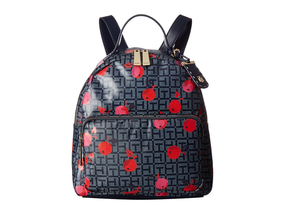 Tommy Hilfiger - Julia Cherry Backpack (Navy/Tonal) Backpack Bags