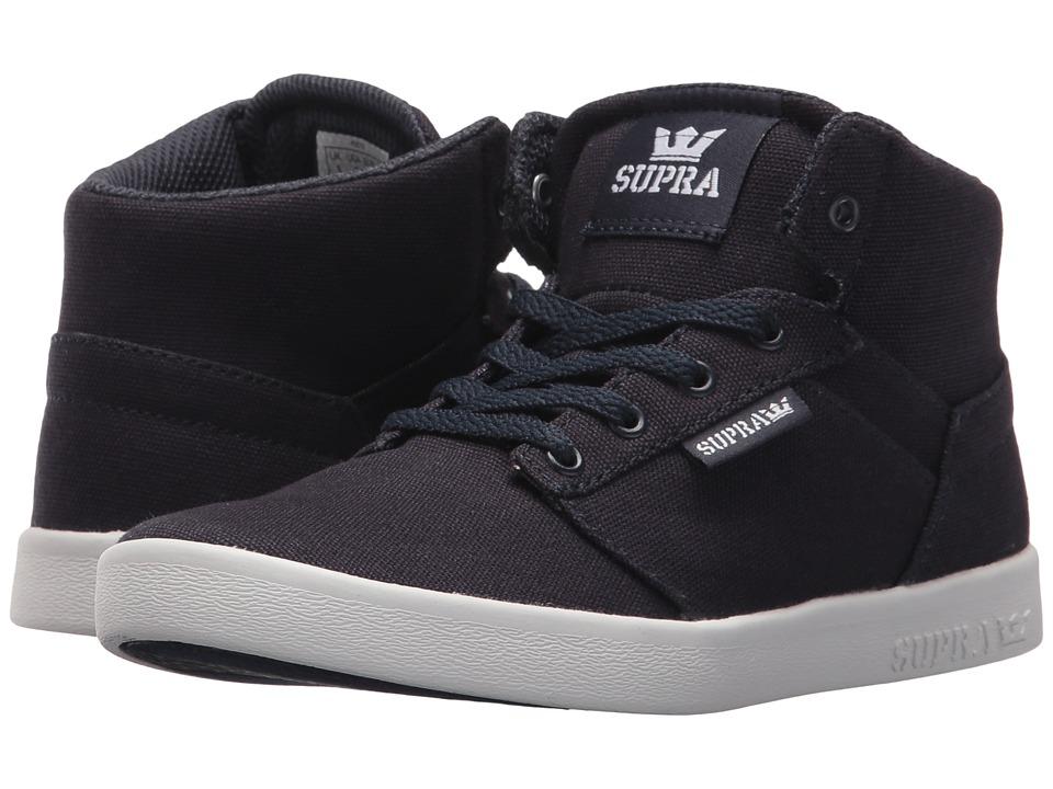Supra Kids Yorek High (Little Kid/Big Kid) (Outer Space/Golden Rod) Boys Shoes