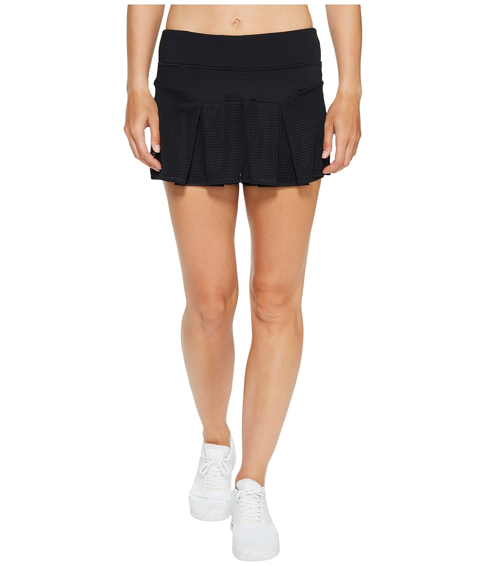 Trina Turk - Set Match Box Pleat Skirt (Black) Women's Skirt