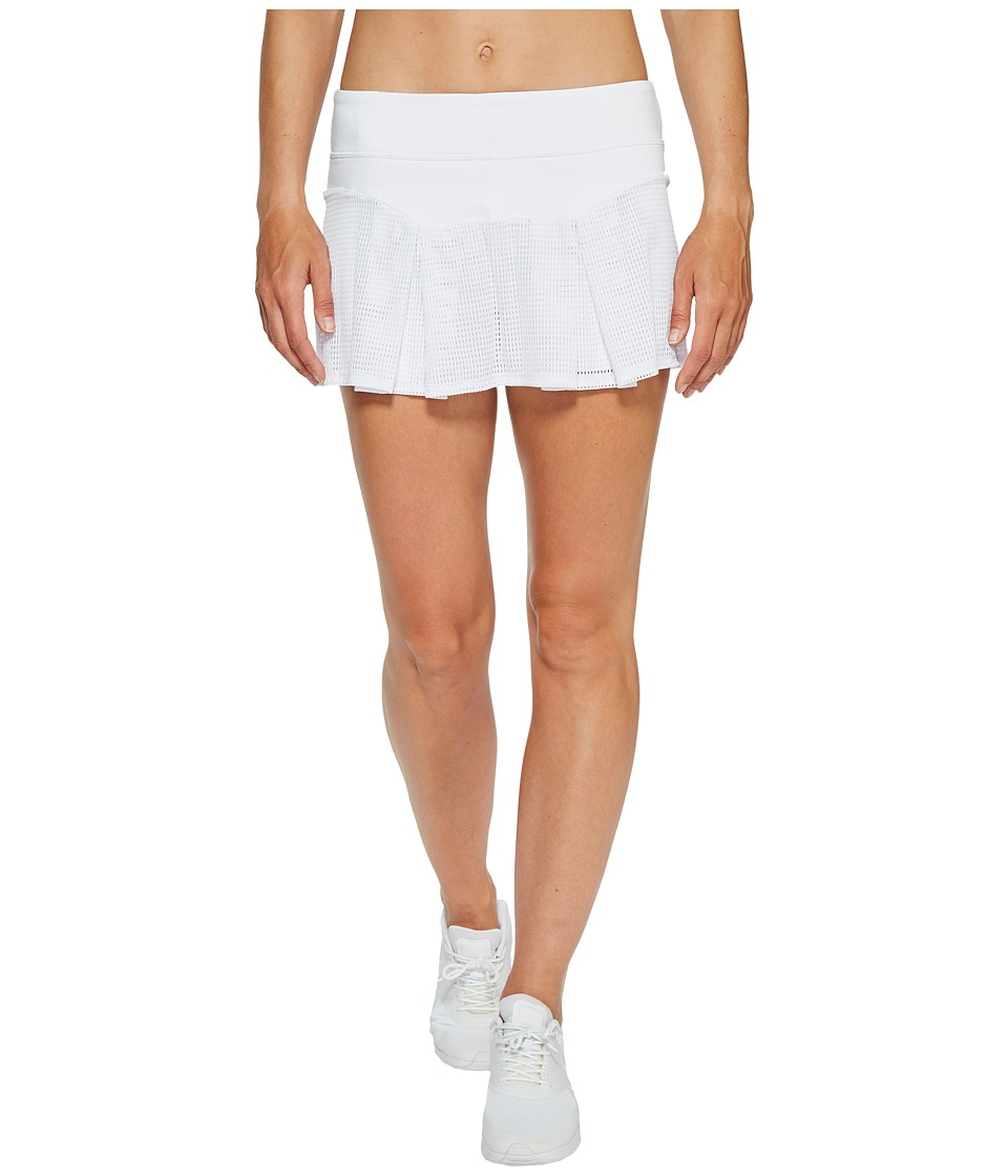 Trina Turk - Set Match Box Pleat Skirt (White) Women's Skirt