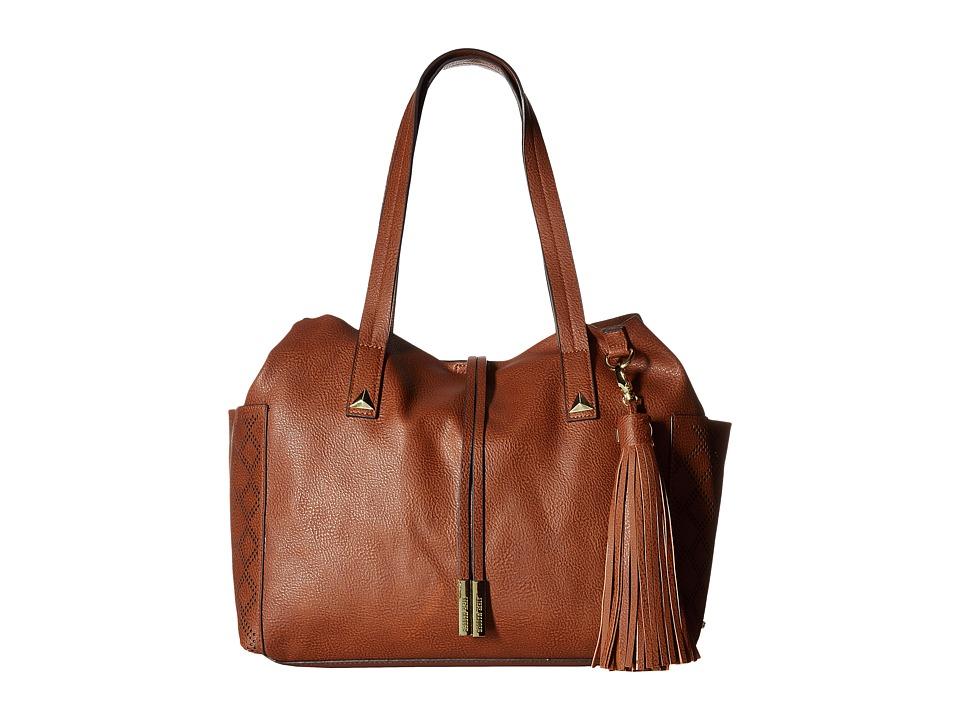 Steve Madden - Blayla Tote (Cognac) Tote Handbags